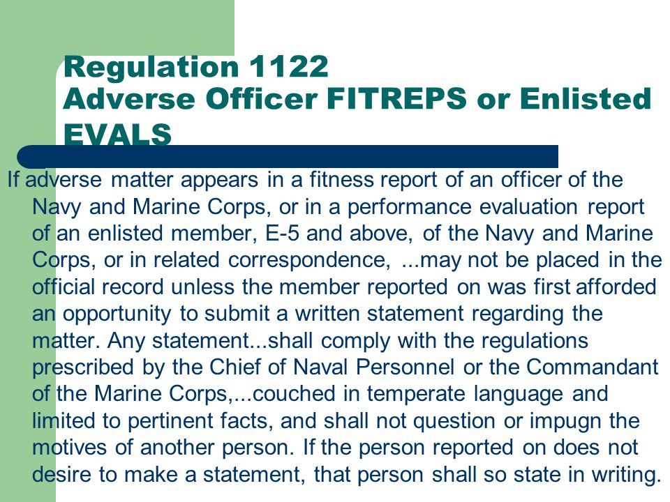 Regulation 1111 Pecuniary Dealings with Enlisted Personnel No officer shall borrow money or accept deposits from, or have any pecuniary dealings with