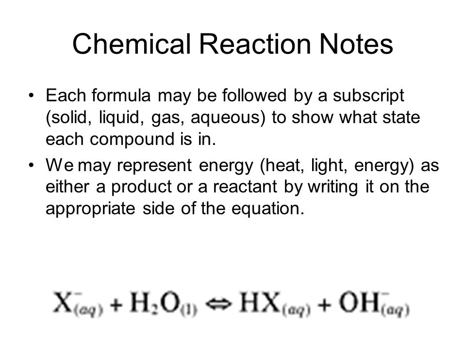Chemical Reaction Notes Law of Conservation of Mass: In a chemical reaction the arrangement of atoms will change, but the total number of each type of atom, and therefore the total mass, will remain constant http://nanopedia.case.edu/NWPage.php?page=chemical.reactions
