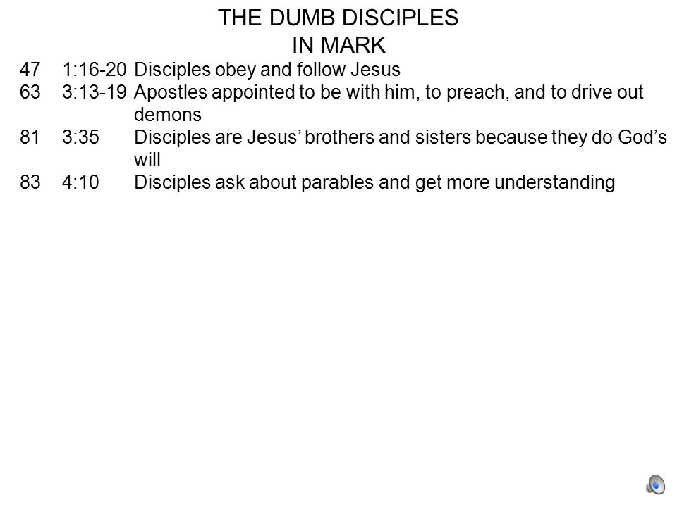 1.The gospels are true.