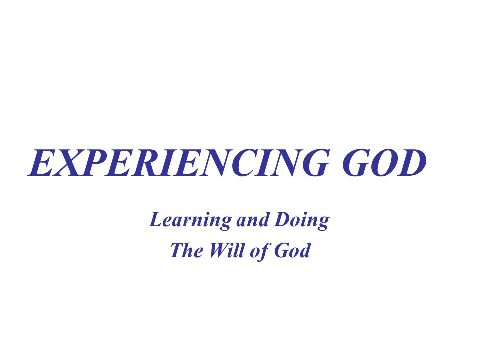 Principle # 1 GOD IS ALWAYS AT WORK AROUND YOU How Do We Respond To This Principle A.AS SERVANTS OF GOD- WE OBEY B.AS SONS OF GOD- WE SHINE 1.Live in Humility- No Murmur and complaining 2.Live in Harmony- Not Arguing or Contentious 3.Live in Holiness- Not Self- Centered, God- Centered 4.As Children of the Light- We SHINE