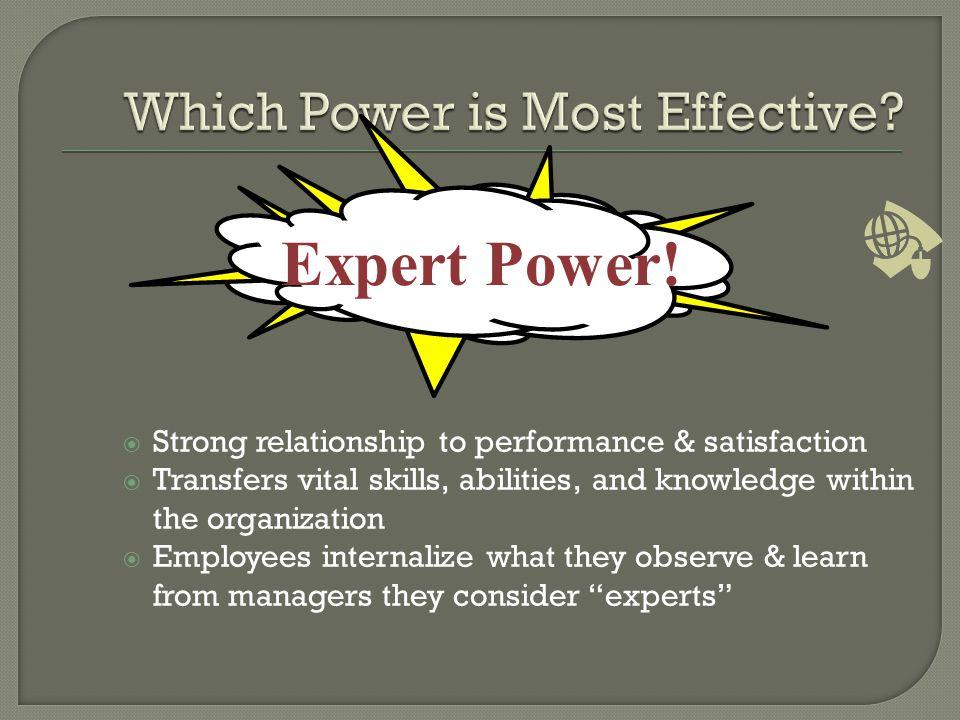 Expert Power.