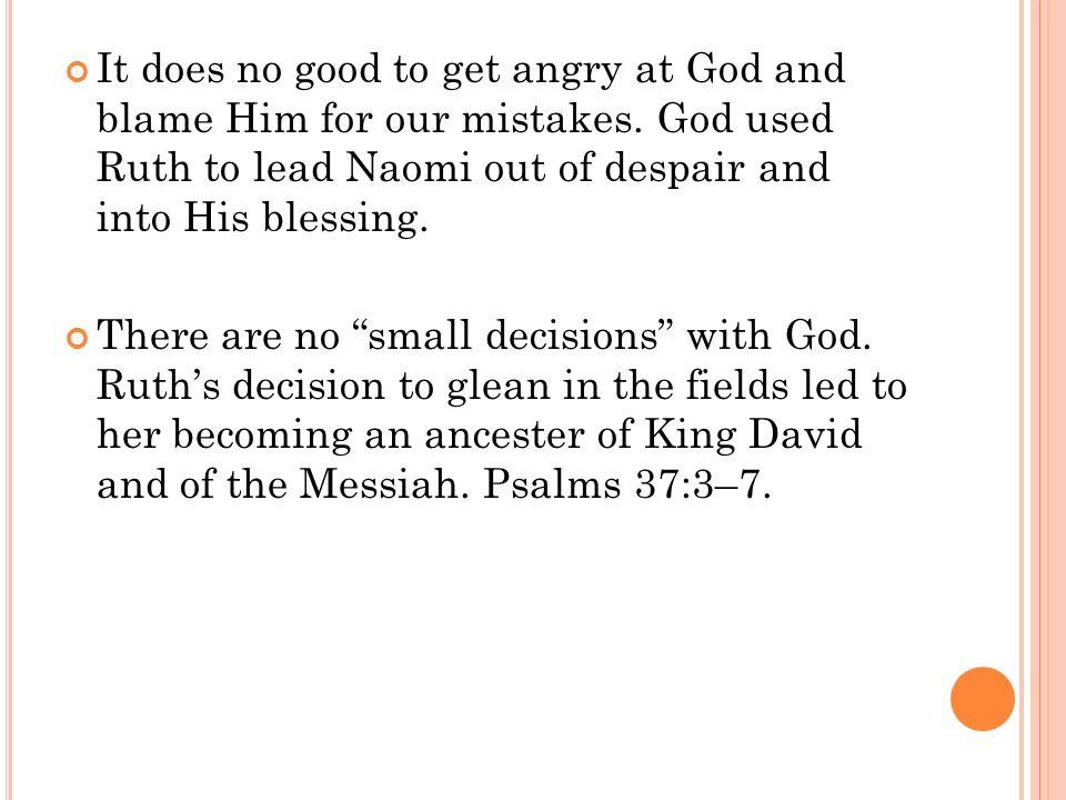 There are no small decisions with God.