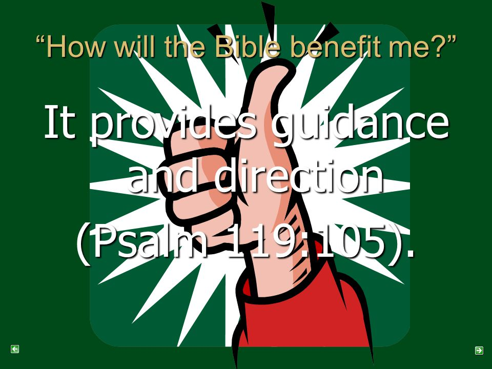 It provides guidance and direction (Psalm 119:105).