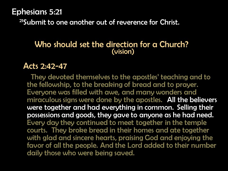 21 Submit to one another out of reverence for Christ.