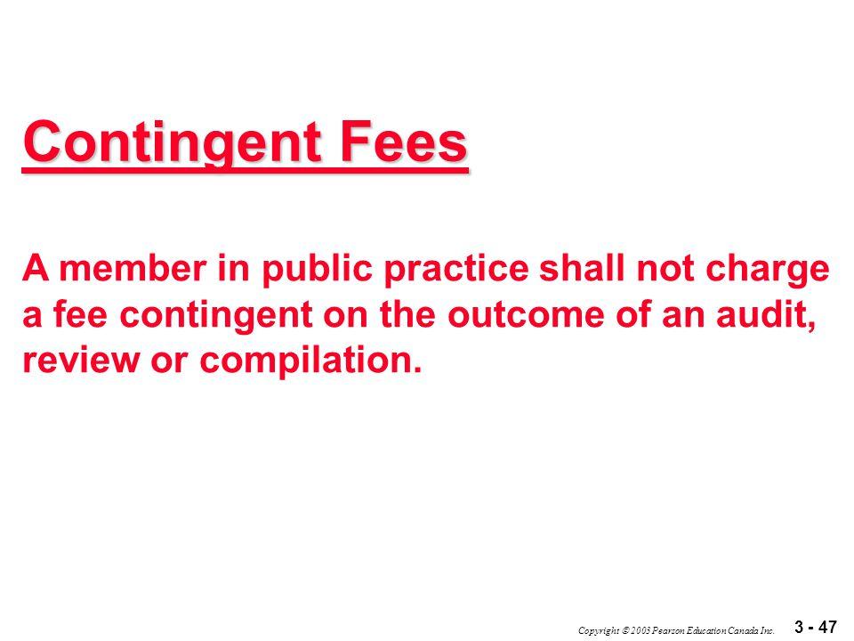 3 - 47 Copyright  2003 Pearson Education Canada Inc.