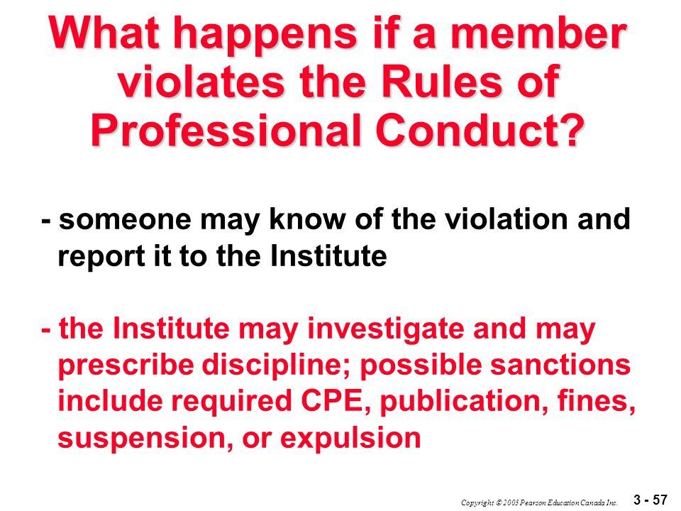 3 - 57 Copyright  2003 Pearson Education Canada Inc.