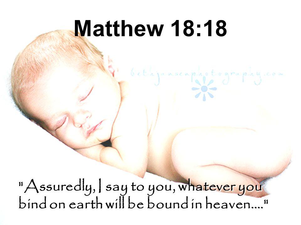Matthew 18:18