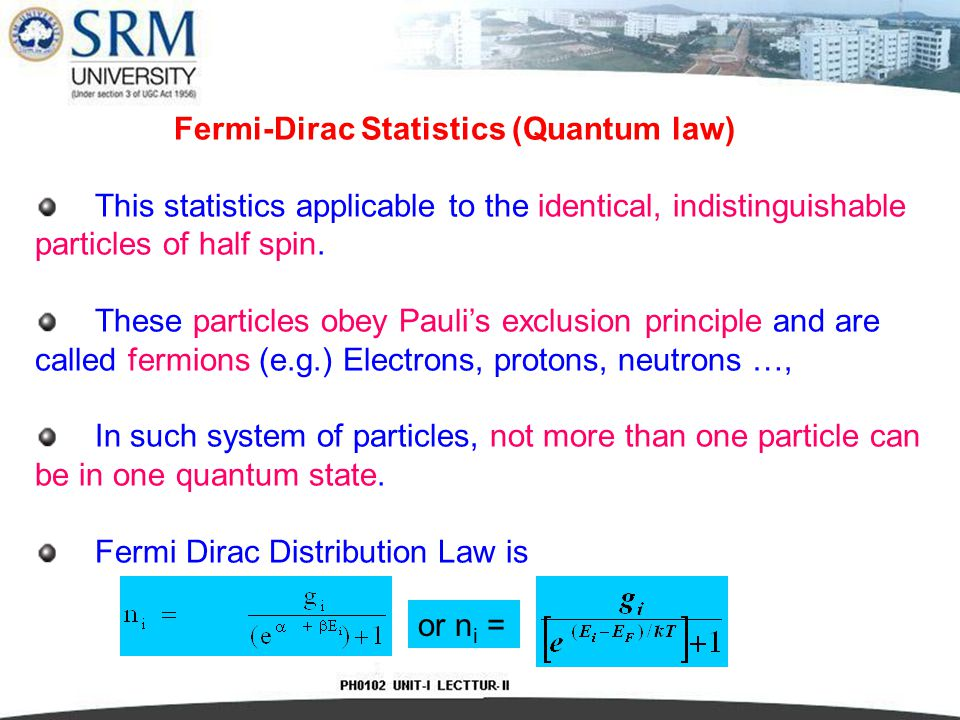 If we assume that, Thus, the Fermi level is located half way between the valence and conduction band and its position is independent of temperature.