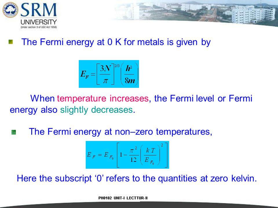Fermi-Dirac Distribution Function f(E) The free electron gas in a solid obeys Fermi-Dirac statistics.