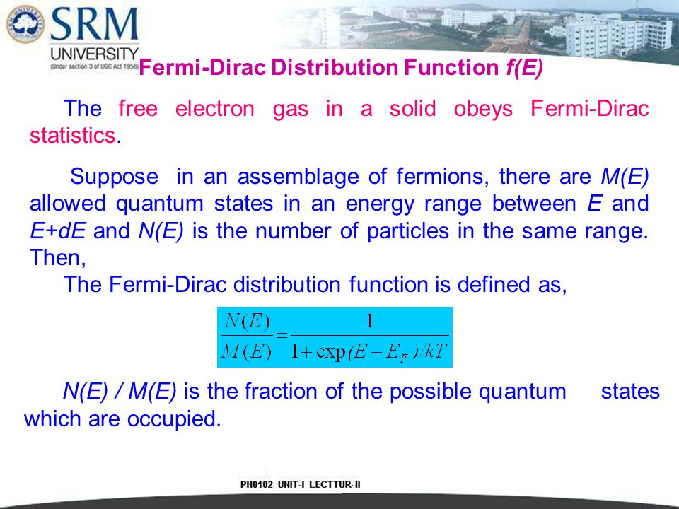 # The probability f(E)of an electron occupying energy level E becomes f(E) = exp(  E g / 2k B T ).