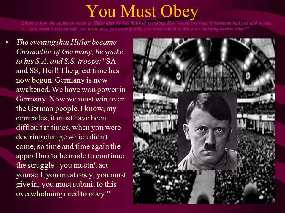 Adolf Hitler Established a Nazi dictatorship in Germany.