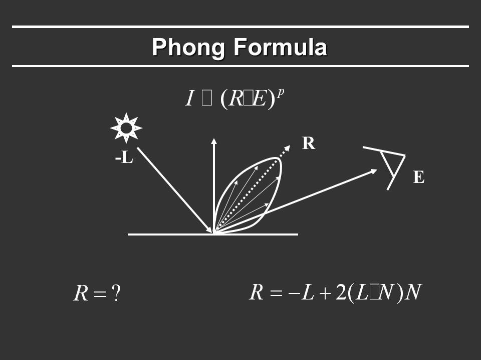 Phong Formula -L R E