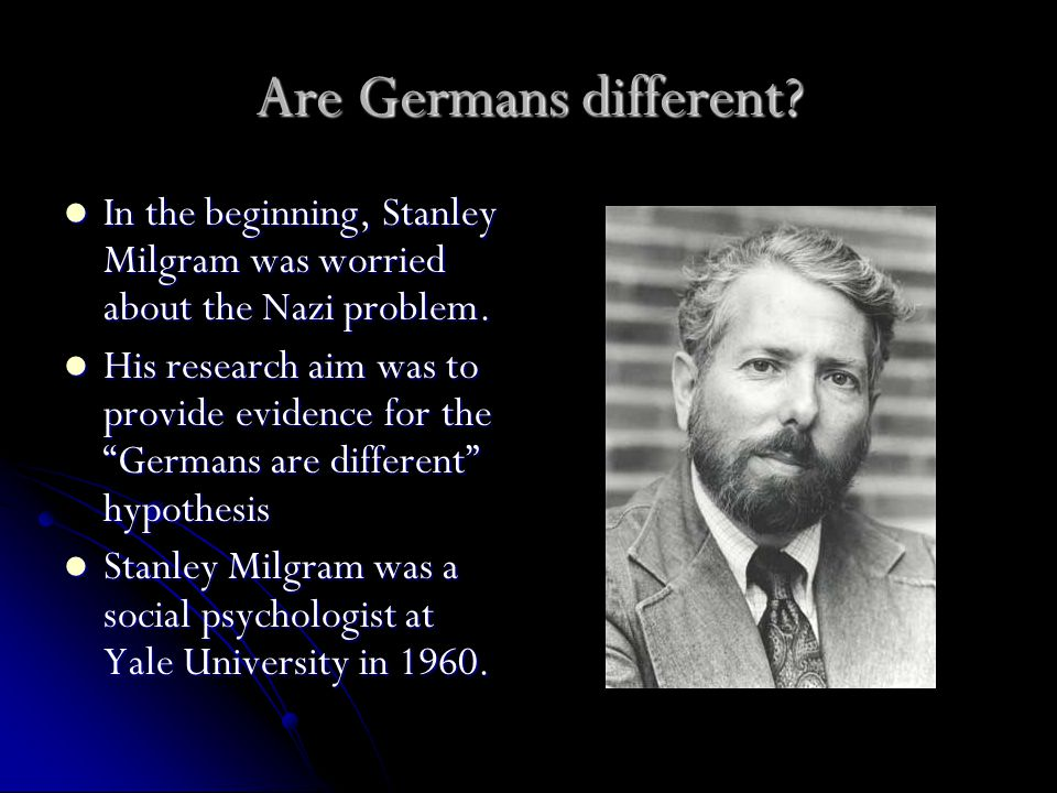 Would Milgram's participants obey.What percentage of participants do you believe would obey.