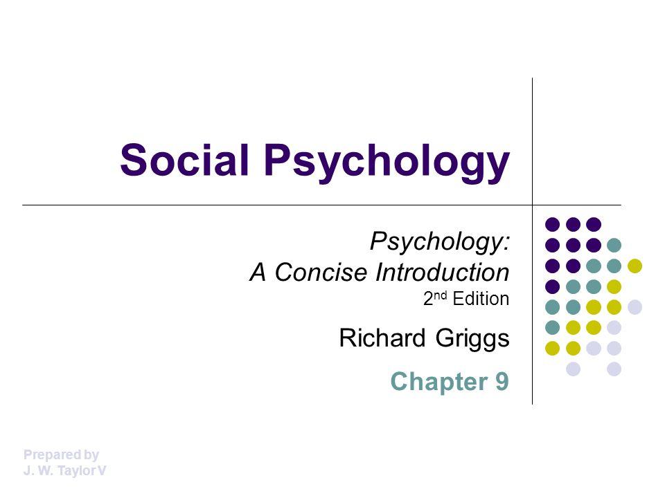 The Impact of Role-Playing A role is a social position that carries with it expected behaviors from the person in it Each role is defined by the socially expected pattern of behavior for it, and these definitions impact both our behavior and our attitudes