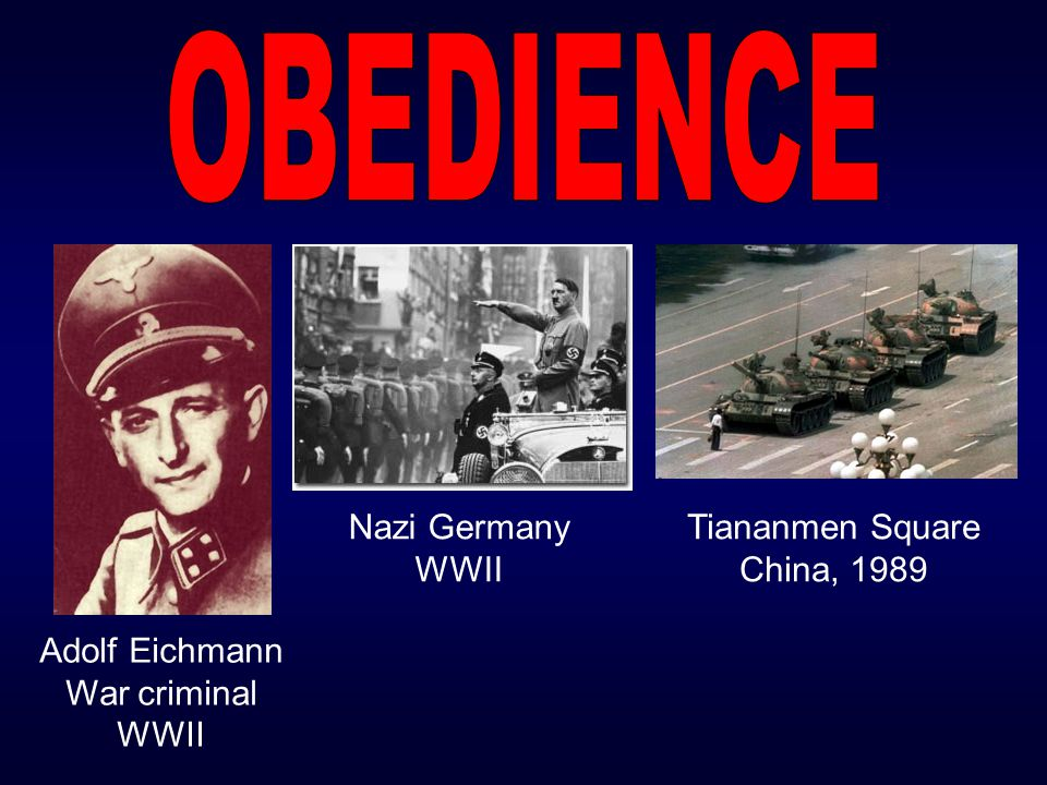 Adolf Eichmann War criminal WWII Nazi Germany WWII Tiananmen Square China, 1989