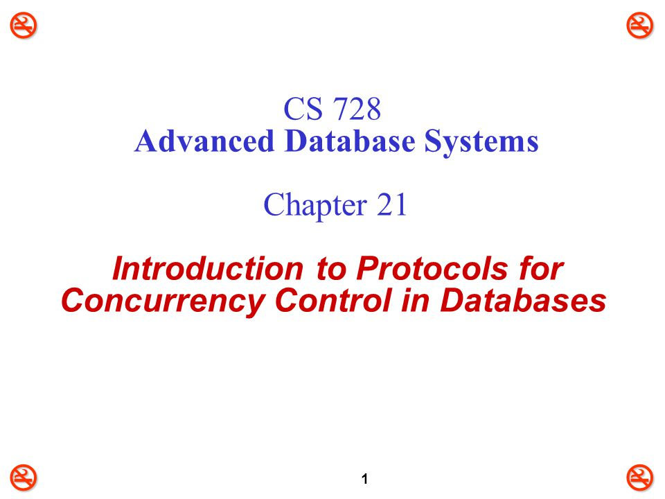 22 Strict Two-Phase Locking (S2PL)  To avoid cascading rollback, follow a modified protocol called Strict 2PL (S2PL).