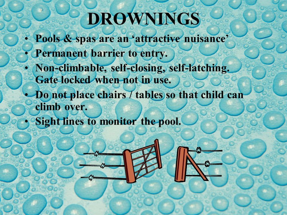DROWNINGS