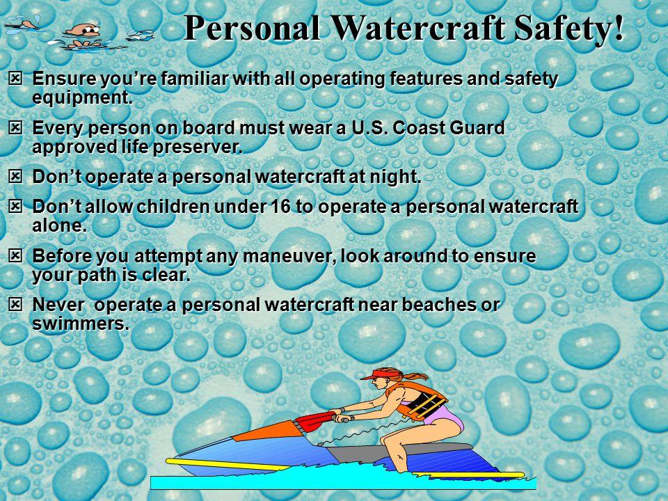 Safe Canoeing.