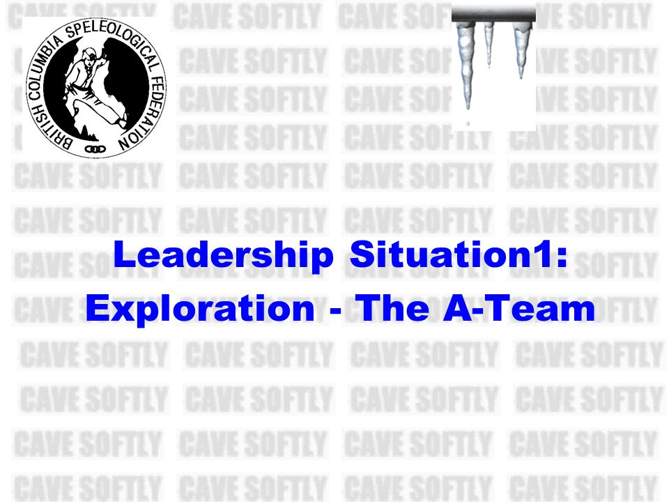 Leadership Situation1: Exploration - The A-Team