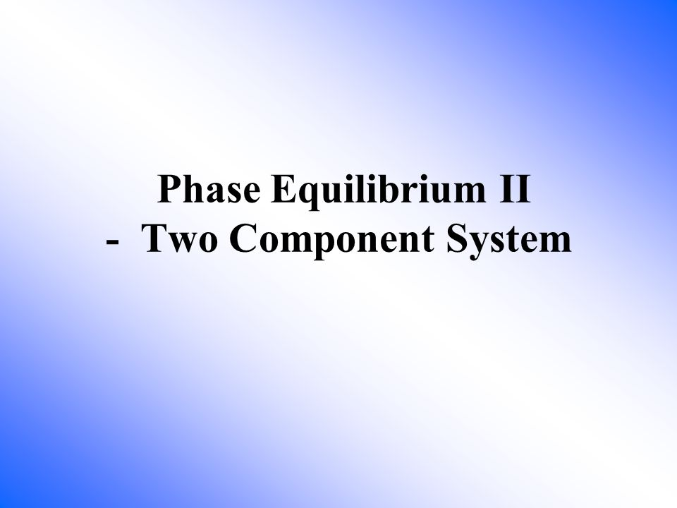 How many components and phases in this system.