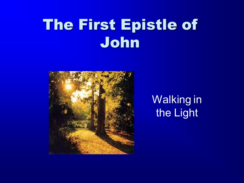 The Gospel and the Epistle Historical narrative 1 st Epistle of JohnGospel of John Reflective Sermon In the beginning was the Word, and the Word was with God, and the Word was God (1:1).