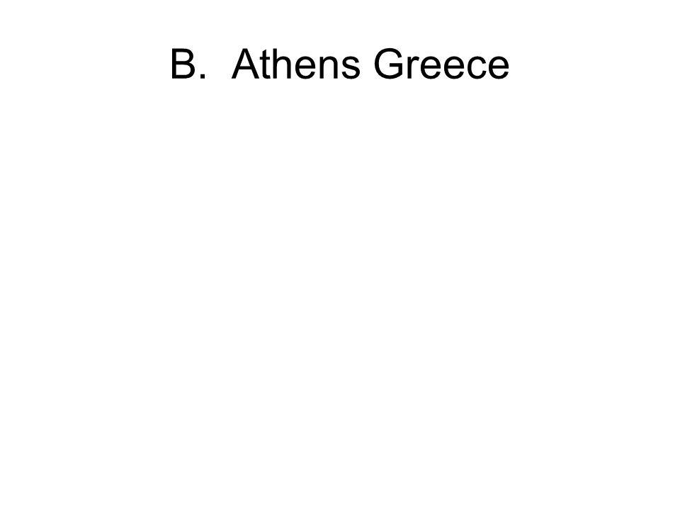 B. Athens Greece