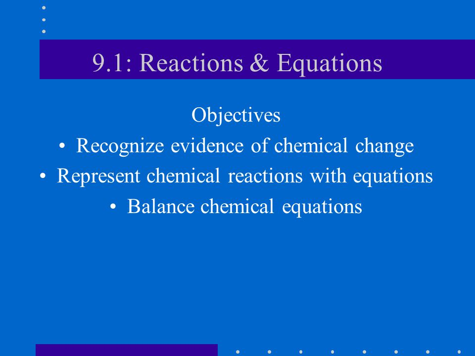 What is a chemical reaction.