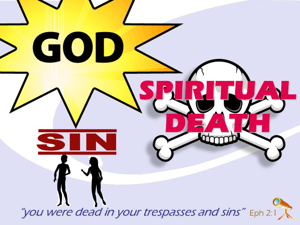 you were dead in your trespasses and sins you were dead in your trespasses and sins Eph 2:1 SPIRITUALDEATH