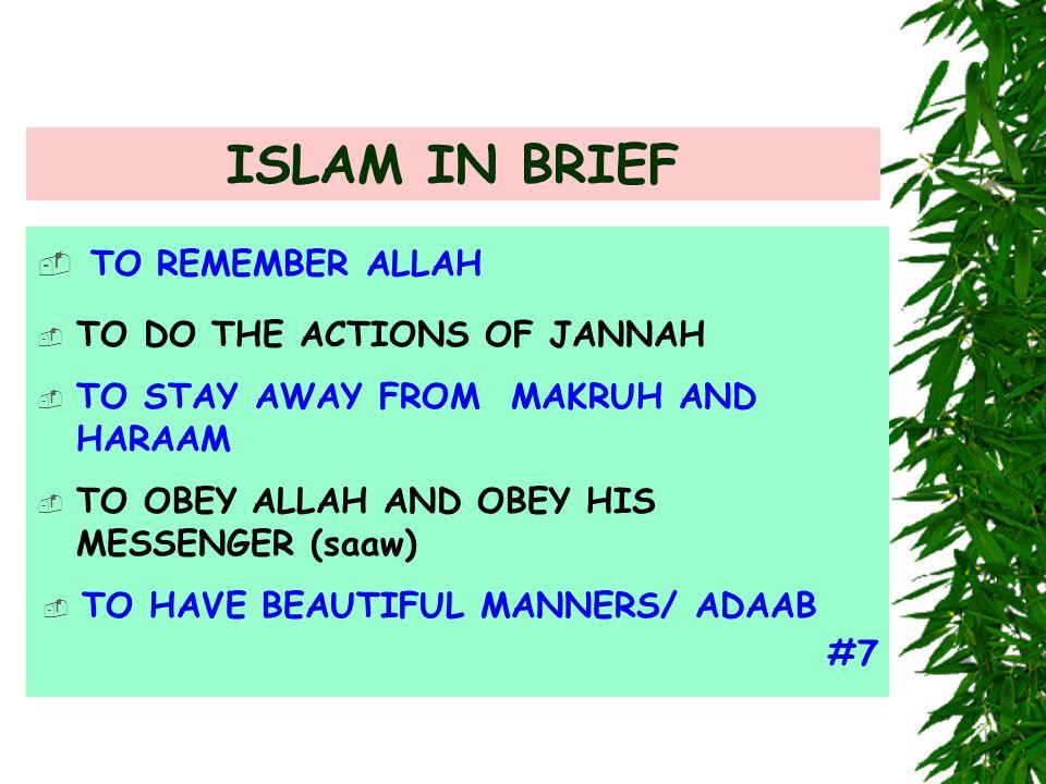 ENVY IN ISLAM.