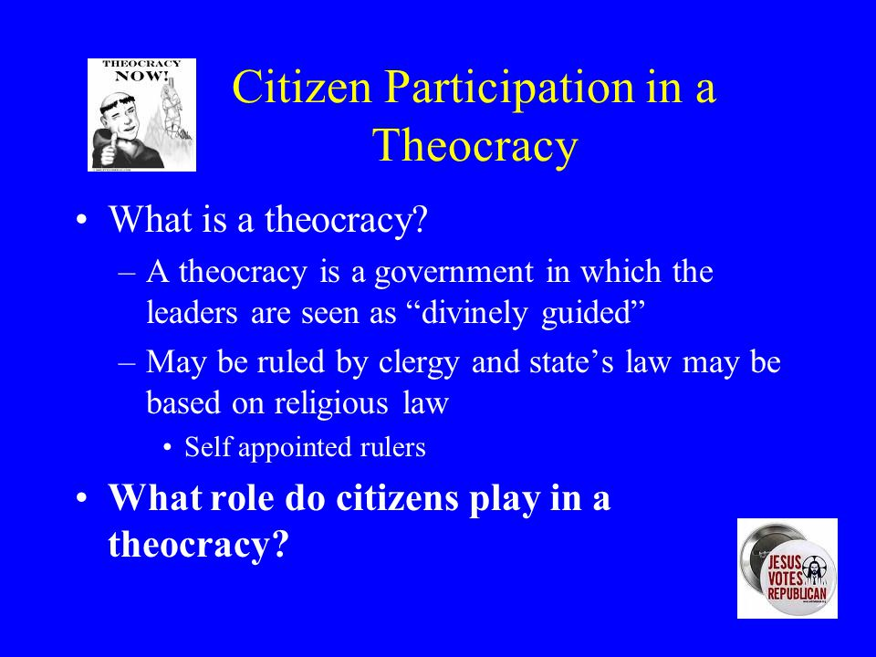 Citizen Participation in a Dictatorship What is a dictatorship? –A dictatorship is a form of government where one person (a dictator) reigns supreme –