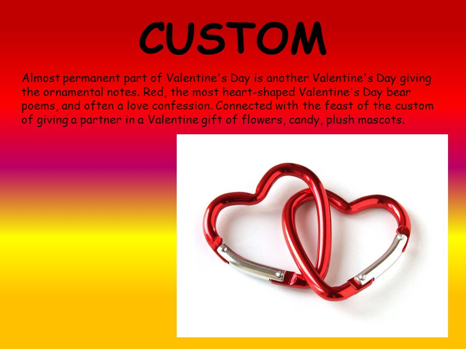 CUSTOM Almost permanent part of Valentine s Day is another Valentine s Day giving the ornamental notes.