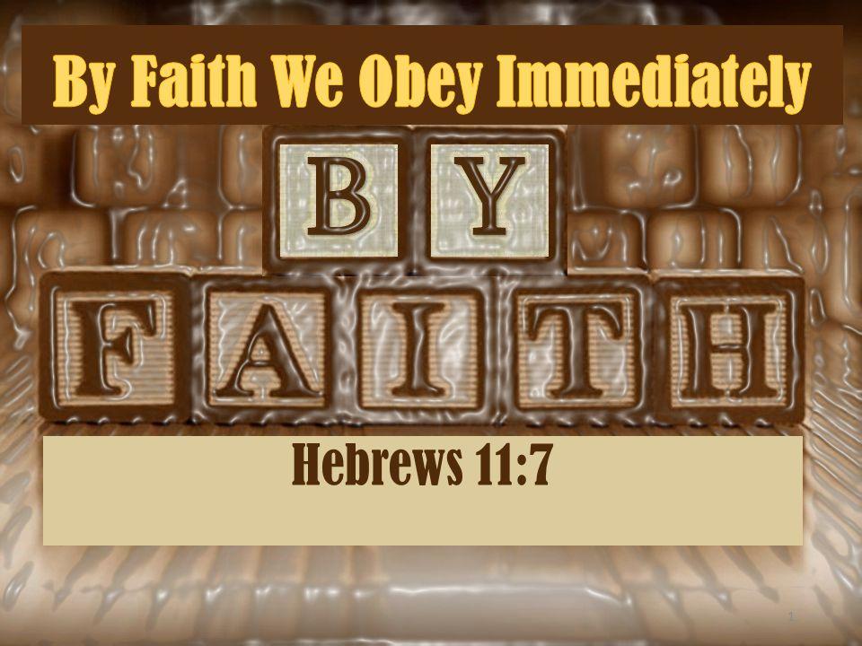 Hebrews 11:7 1
