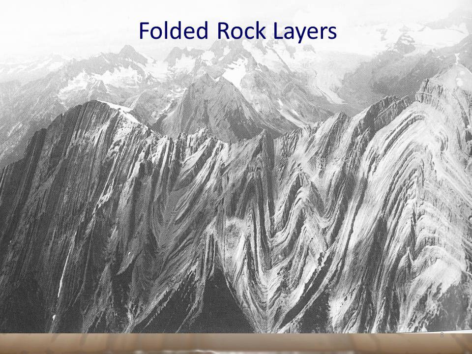 Folded Rock Layers 8