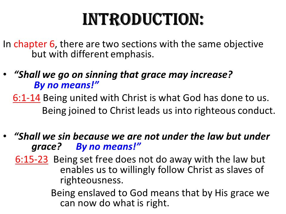 Introduction: In chapter 6, there are two sections with the same objective but with different emphasis.