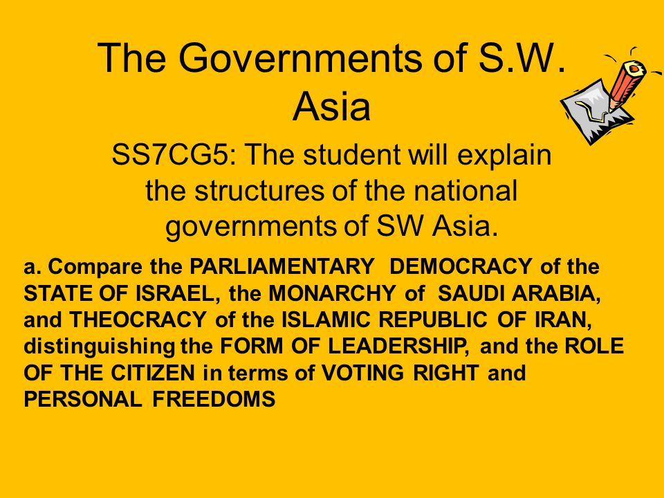 How does a Democratic government differ from an Oligarchic government A.