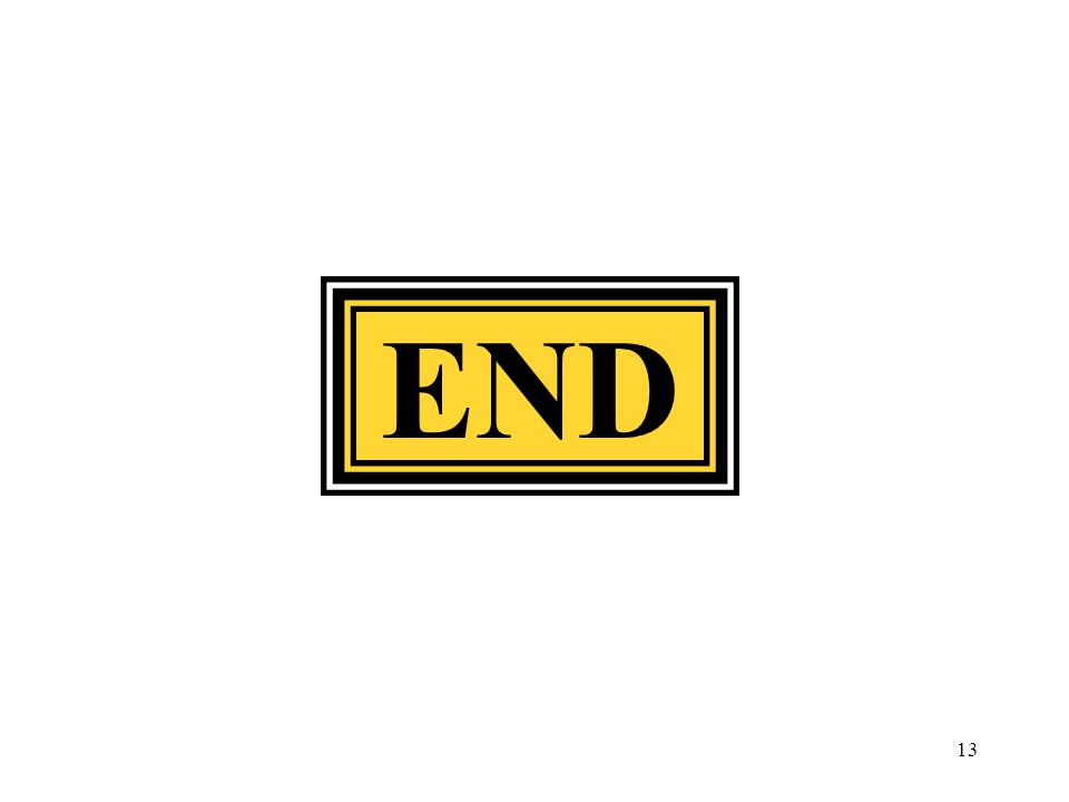 END 13