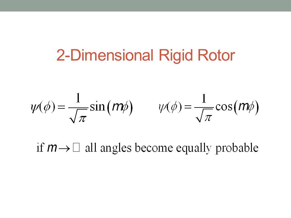 2-Dimensional Rigid Rotor