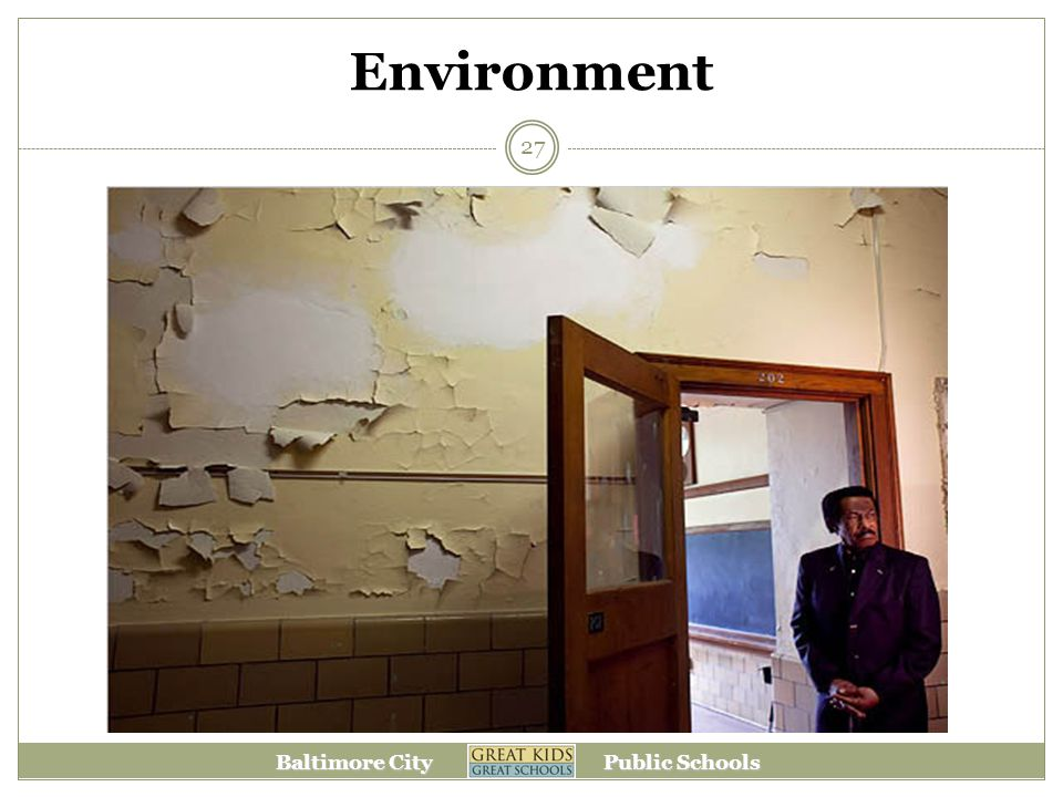 Baltimore City Public Schools Environment 27