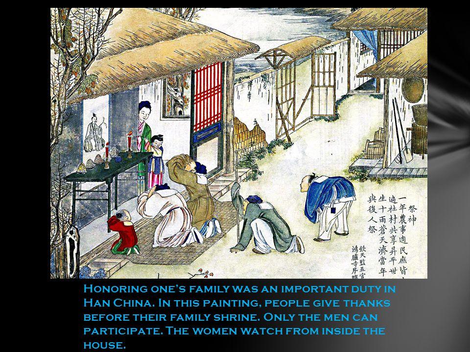 Children were also encouraged to serve their parents.