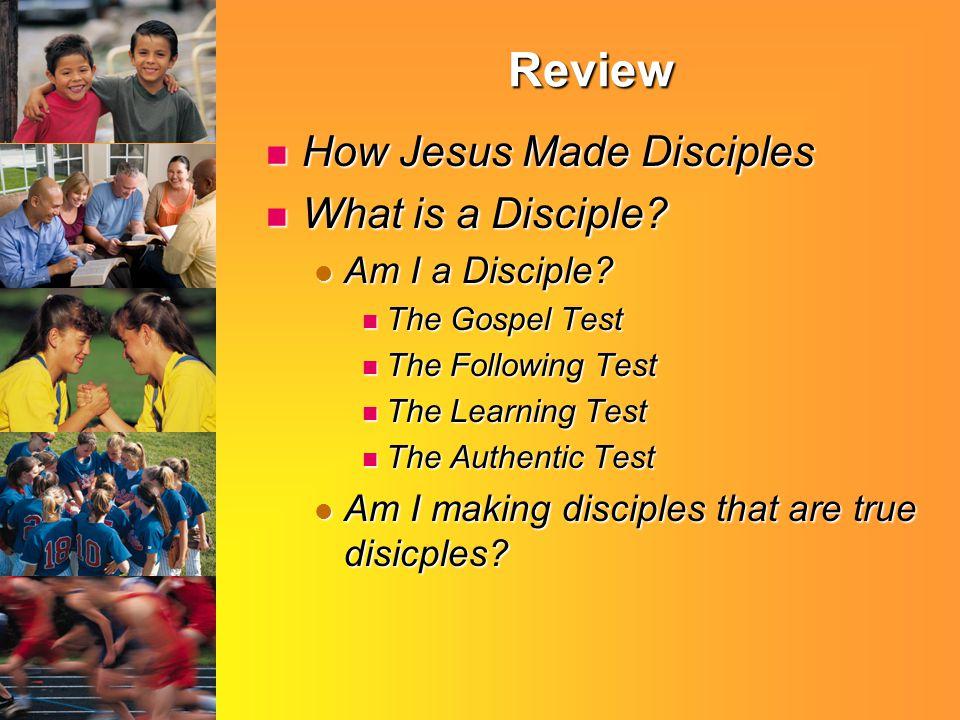 Disciple: LEARNER Matthew 11:29 Matthew 11:29 Matthew 7:21 Matthew 7:21 Luke 6:46 Luke 6:46 John 3:36 John 3:36 John 5:24 John 5:24