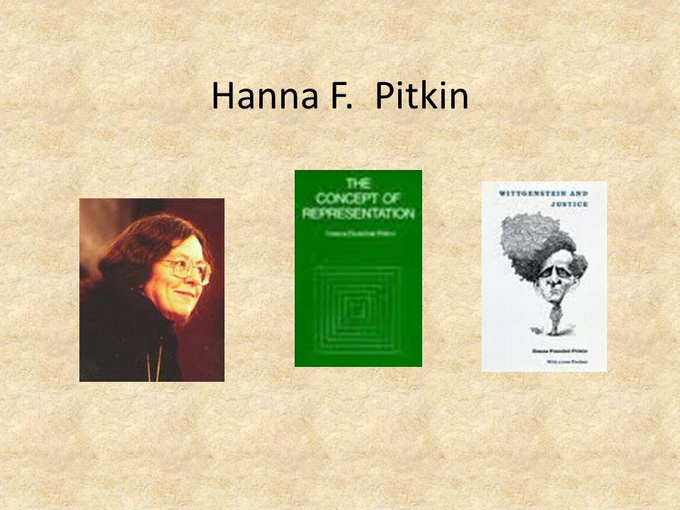 Hanna F. Pitkin