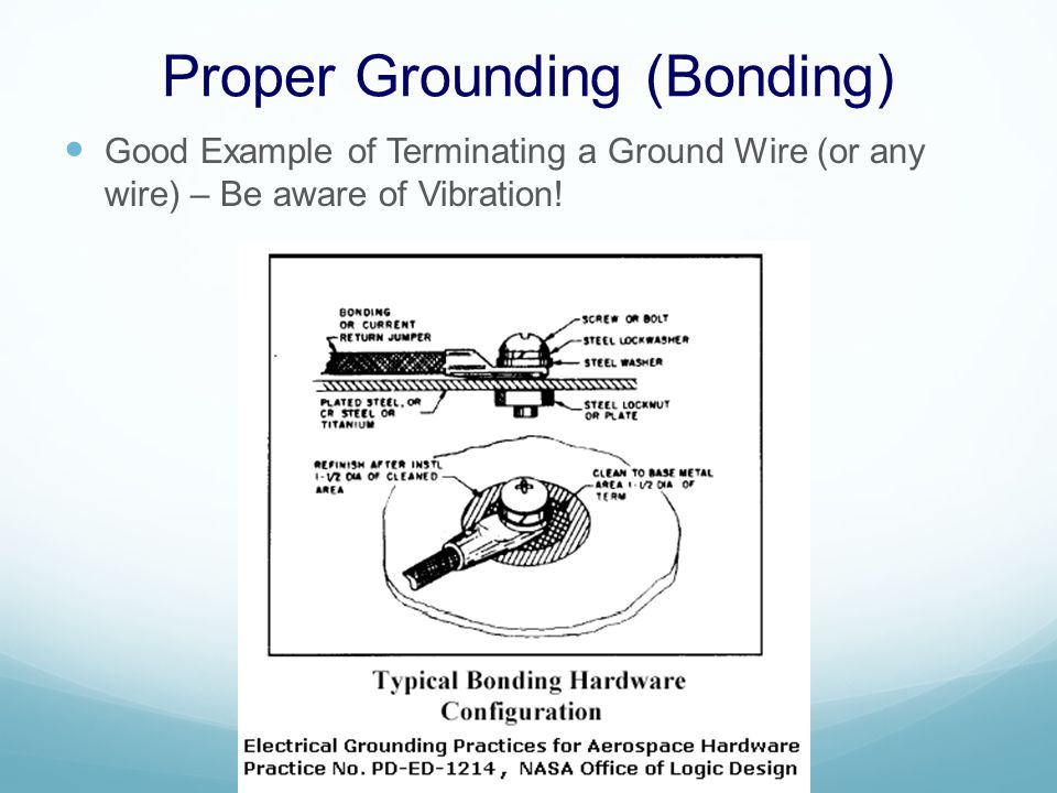 Proper Grounding (Cont.) Proper Termination of Shielded Cable