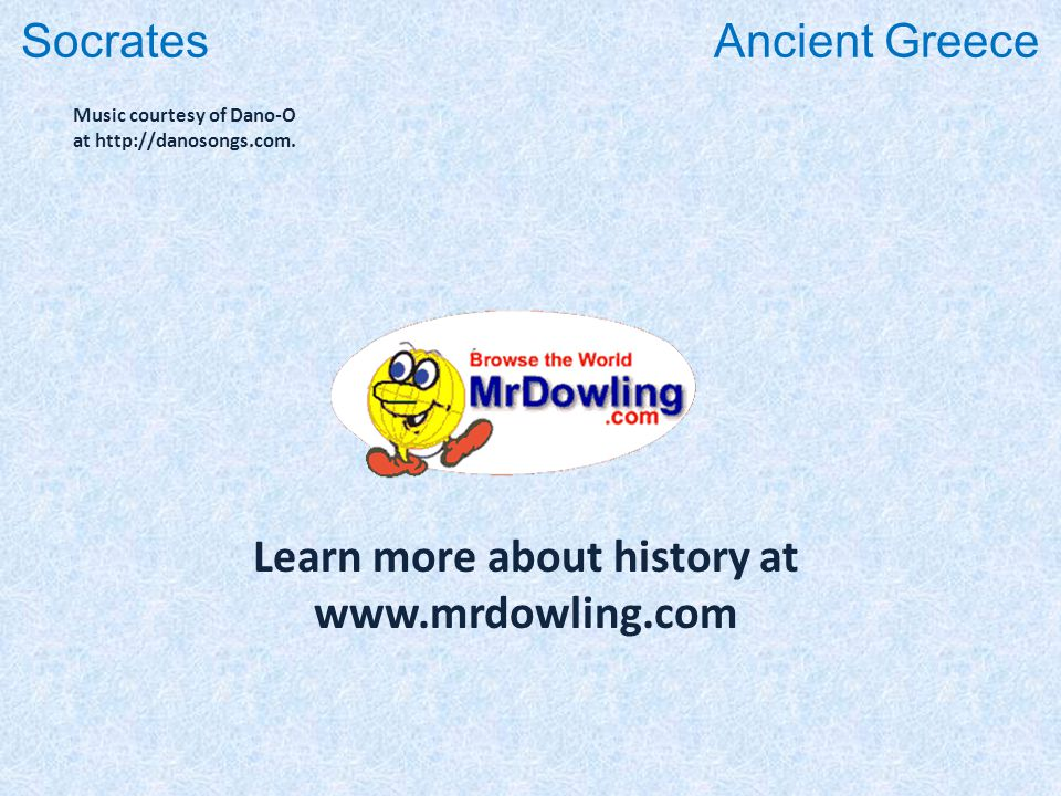 Learn more about history at www.mrdowling.com Music courtesy of Dano-O at http://danosongs.com.
