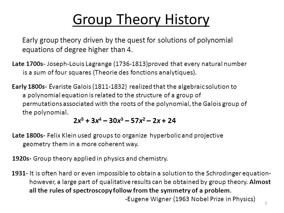 Why Subgroups.