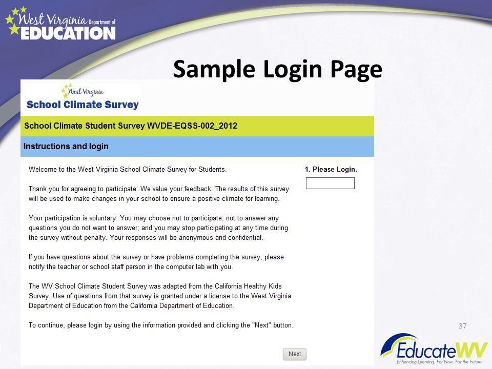 Sample Login Page 37