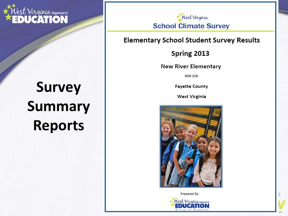 Survey Summary Reports 53