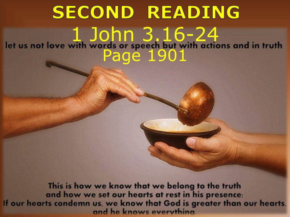 1 John 3.16-24 Page 1901