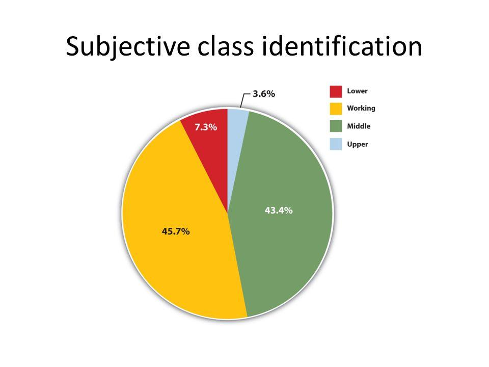 Subjective class identification