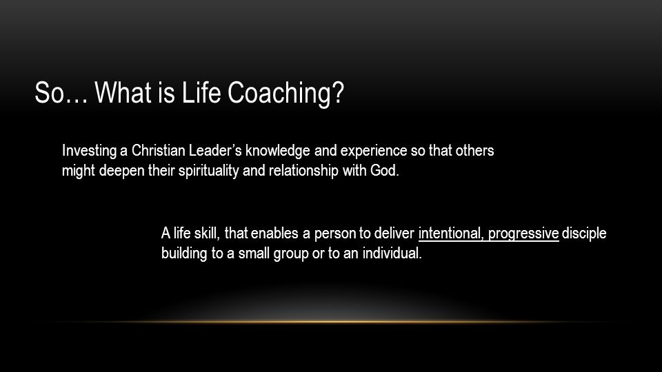 So… What is Life Coaching.