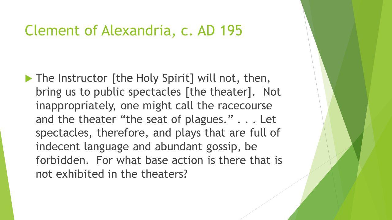 Clement of Alexandria, c.